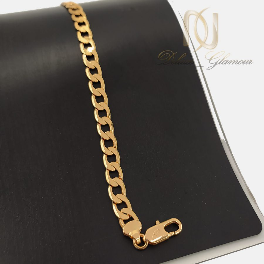 دستبند ژوپینگ زنانه طرح کارتیه ds-n660 از نمای مشکی