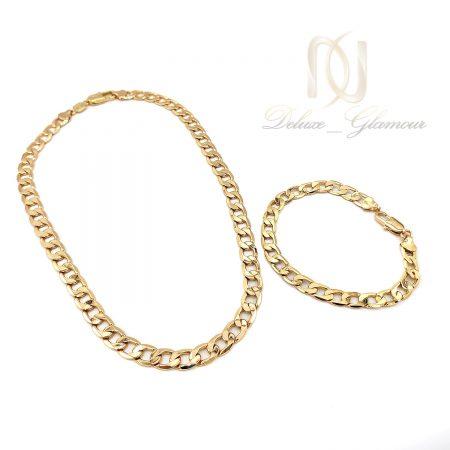 ست دستبند و گردنبند ژوپینگ زنانه ns-n670