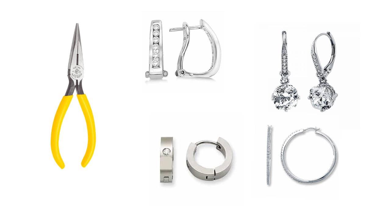درست کردن قفل گوشواره