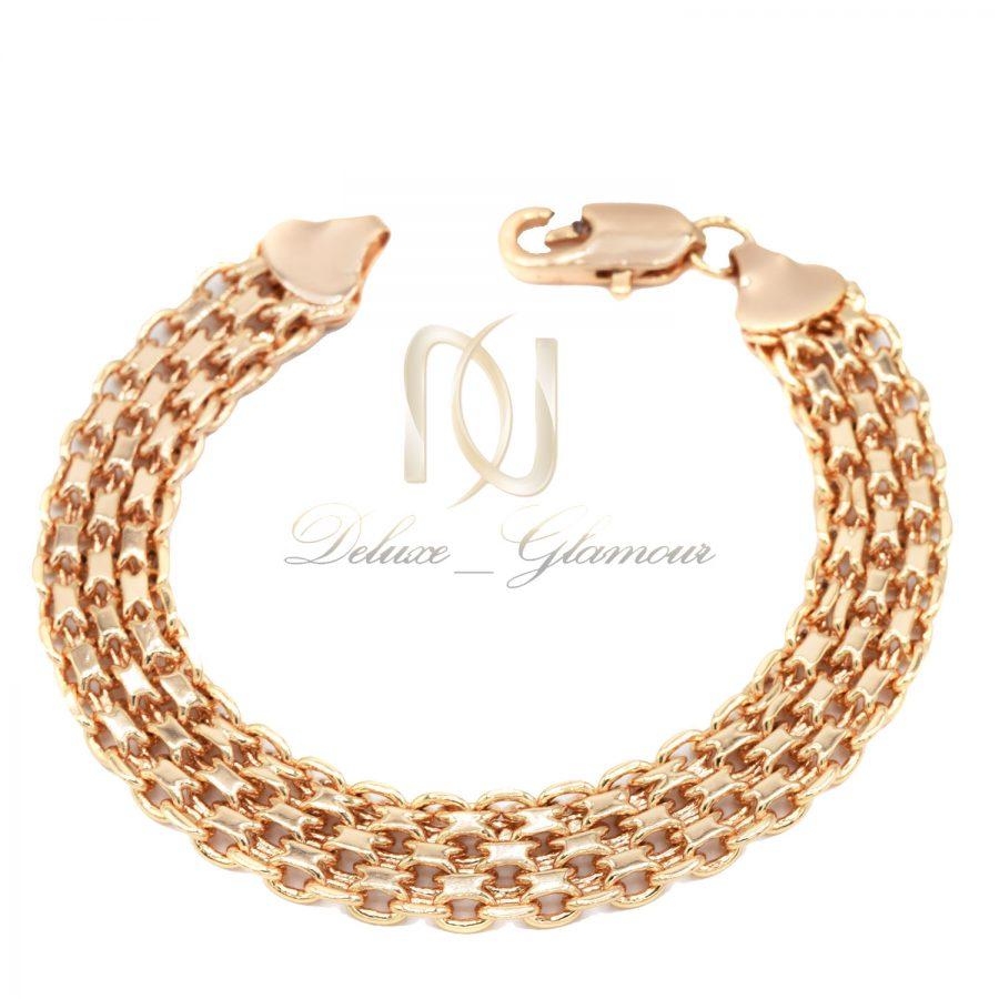 دستبند زنانه استیل طرح طلا ds-n679