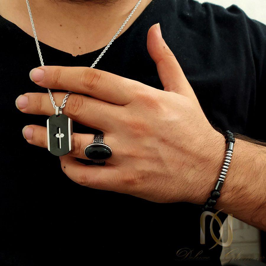 ست دستبند، انگشتر و گردنبند مردانه NS-N687