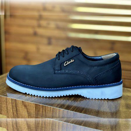 کفش مردانه چرم اصل مشکی sh-n157
