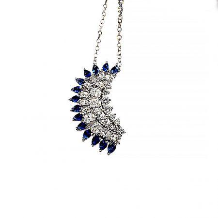 گردنبند دخترانه جواهری سواروسکی Nw-n117