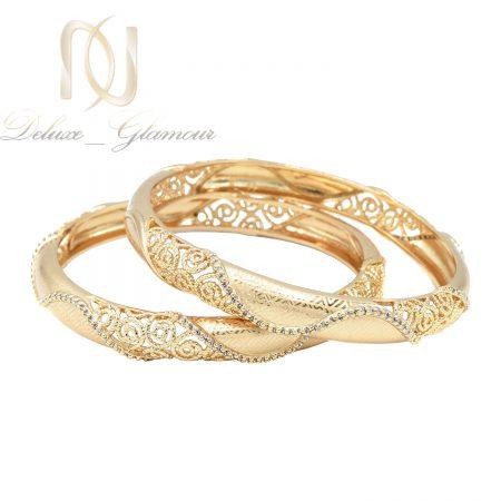 النگو تک پوش نگین دار طرح طلای ژوپینگ pr-b101