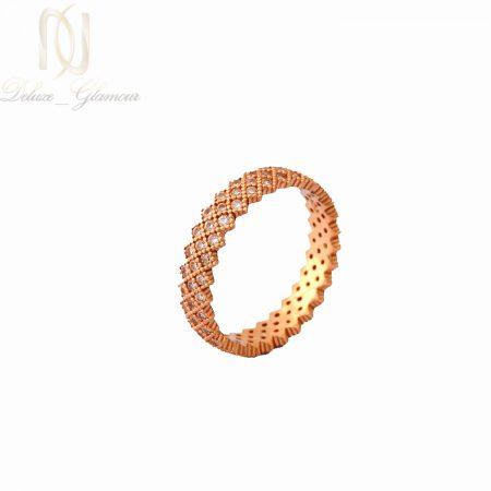 انگشتر نقره زنانه ظریف رزگلد پرنس rg-n317