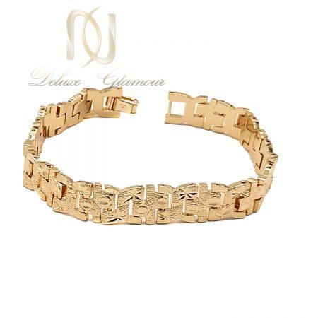 دستبند زنانه ژوپینگ طرح طلای تراش ds-n683
