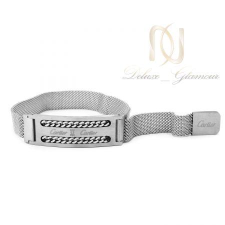 دستبند مردانه حصیری طرح کارتیه ds-n690
