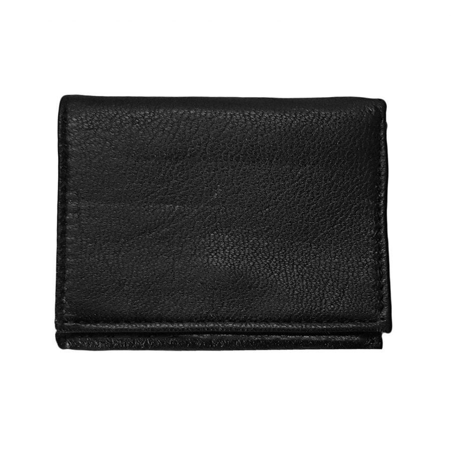 کیف چرم جیبی مشکی جدید le-n103