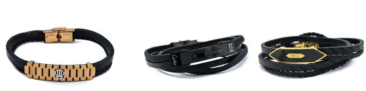 جدیدترین مدل های دستبند چرمی | جدیدترین مدل های دستبند مردانه چرمی مدل 2021-2020