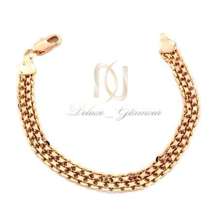 دستبند زنانه شیک استیل رزگلد ds-n713