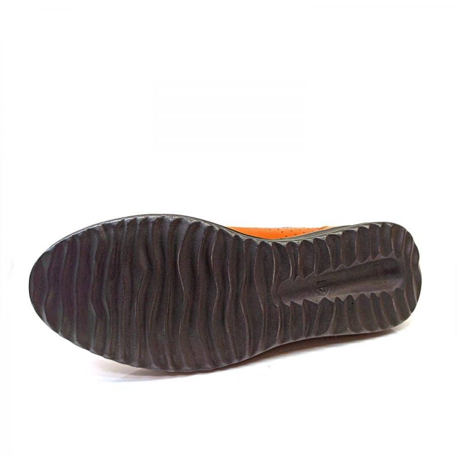 کفش مردانه چرم تبریز طرح کاترپیلار sh-n180