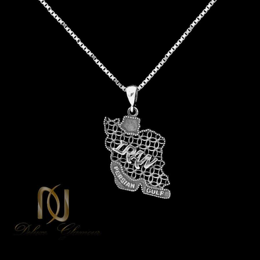 گردنبند اسپرت ایران 3 | گردنبند نماد ایران نقره 925 اسپرت nw-n795