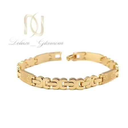 دستبند ژوپینگ زنانه طرح طلا DS-N724