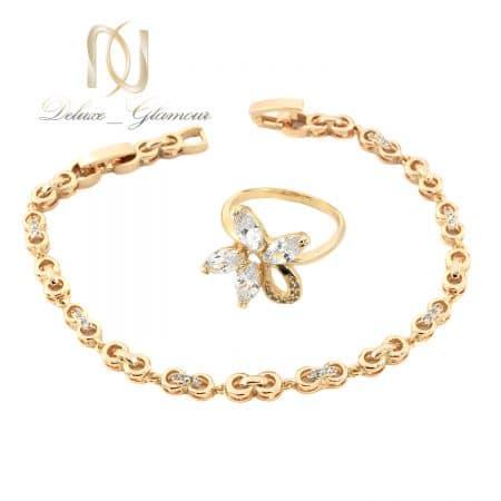 ست دستبند و انگشتر دخترانه ژوپینگ ns-n665