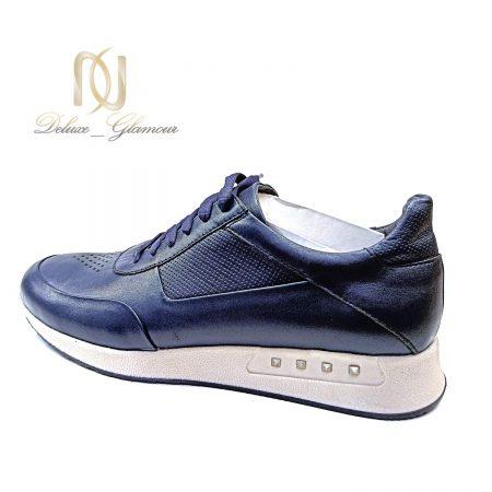 کفش مردانه چرم سرمه ای جدید SH-N186