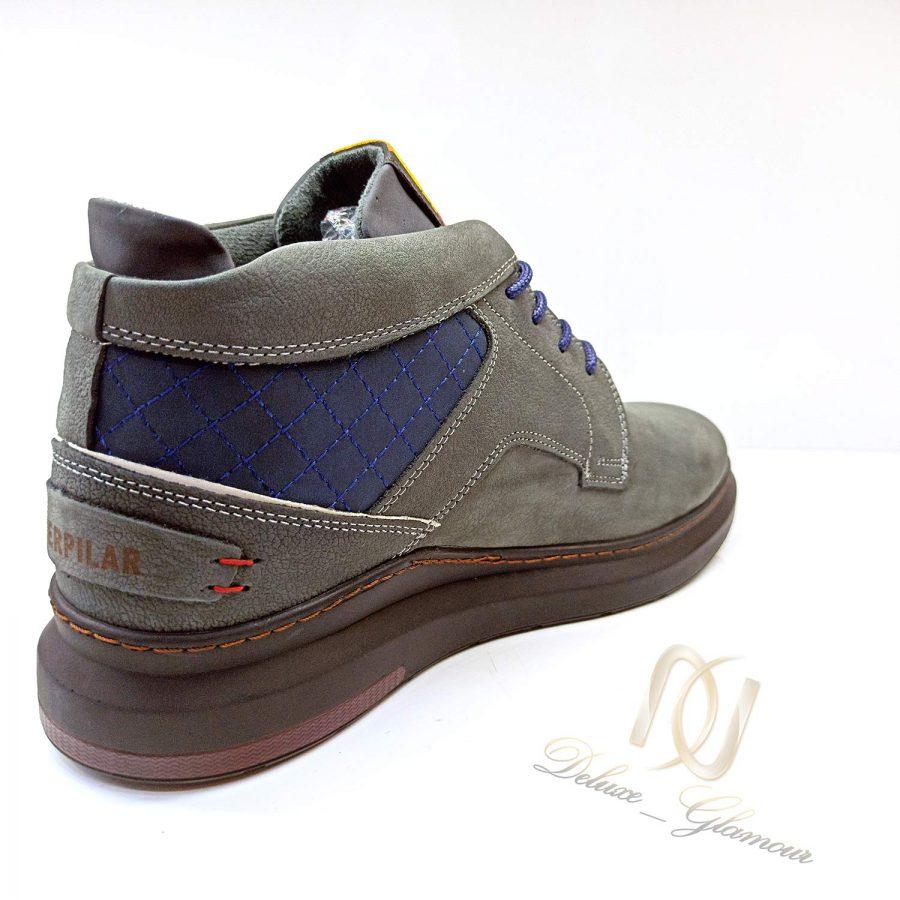 کفش نیم بوت مردانه چرم کاترپیلار sh-n184
