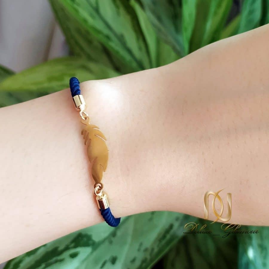 دستبند دخترانه فشن طرح پر za n481 2 | دستبند دخترانه فشن طرح پر za-n481