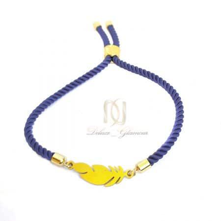 دستبند دخترانه فشن طرح پر za-n481