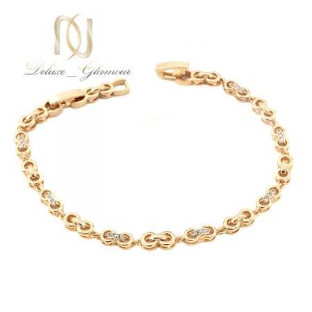 دستبند دخترانه ژوپینگ طرح بی نهایت ds-n731