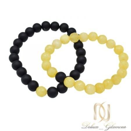 دستبند ست ارزان قیمت سنگی اصل za-n478