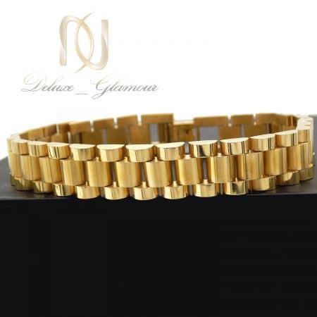 دستبند مردانه رولکس 3 450x450 - دستبند مردانه rolex استیل طلایی ds-n740