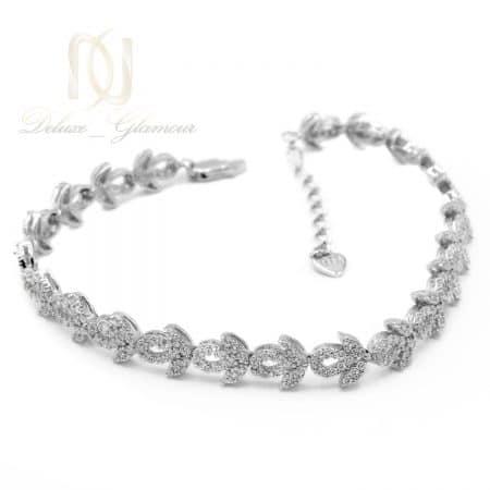 دستبند نقره زنانه ظریف طرح طلا ds-n736