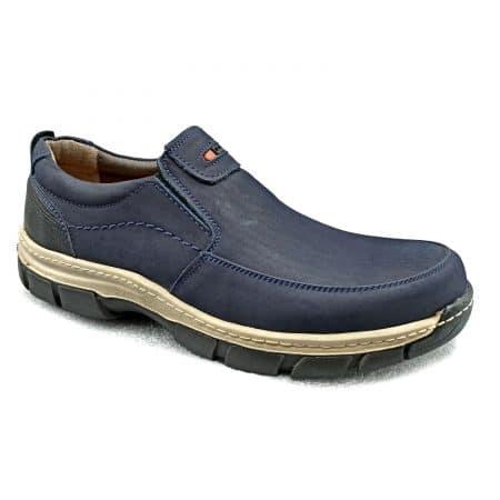 کفش چرم مردانه اسپرت سرمه ای sh n191 2 450x450 - کفش چرم مردانه اسپرت سرمه ای sh-n191