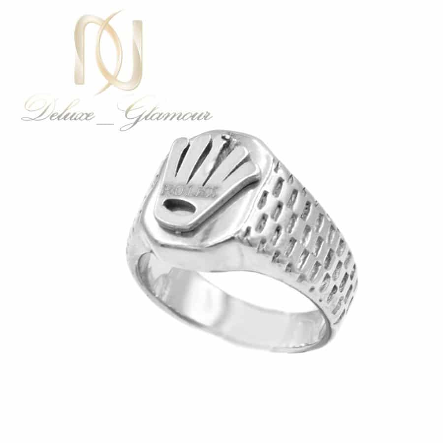 انگشتر مردانه استیل طرح رولکس rg-n609