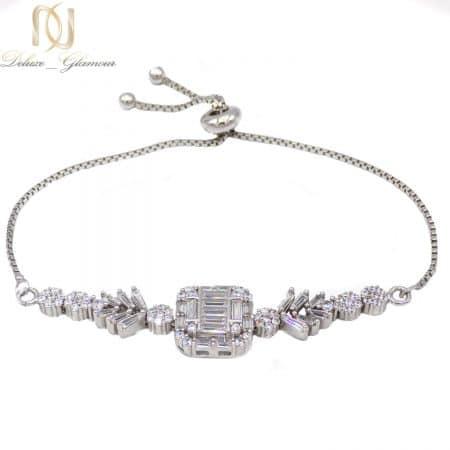 دستبند دخترانه نقره 925 جواهری ma-n503