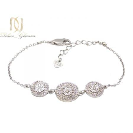 دستبند نقره دخترانه ظریف طرح برف ma-n521
