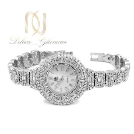 ساعت نقره 925 جواهری زنانه نگین دار sh-n225