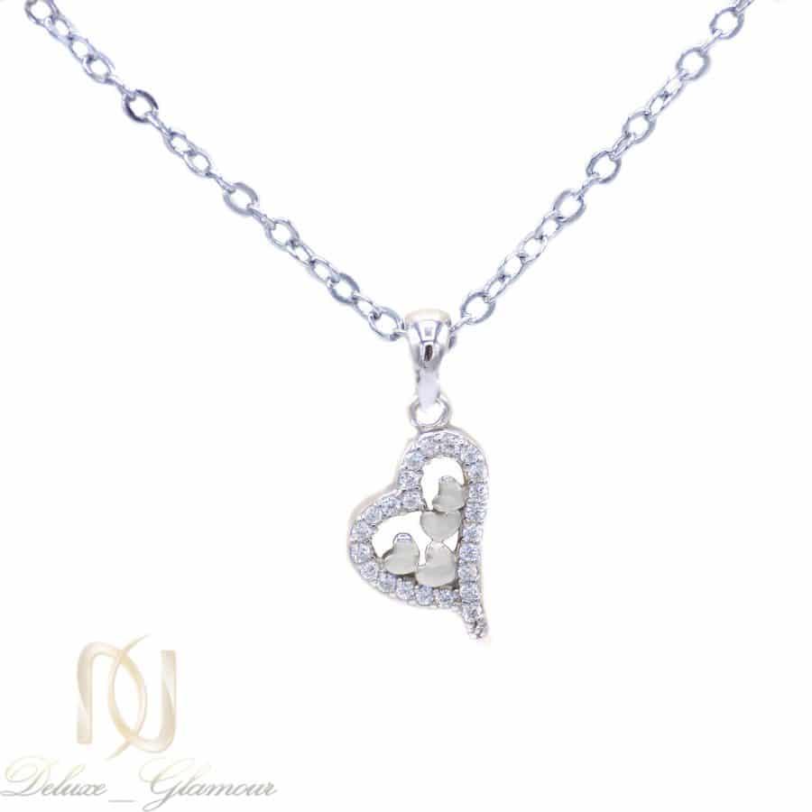 گردنبند ظریف دخترانه نقره اصل ma-n517