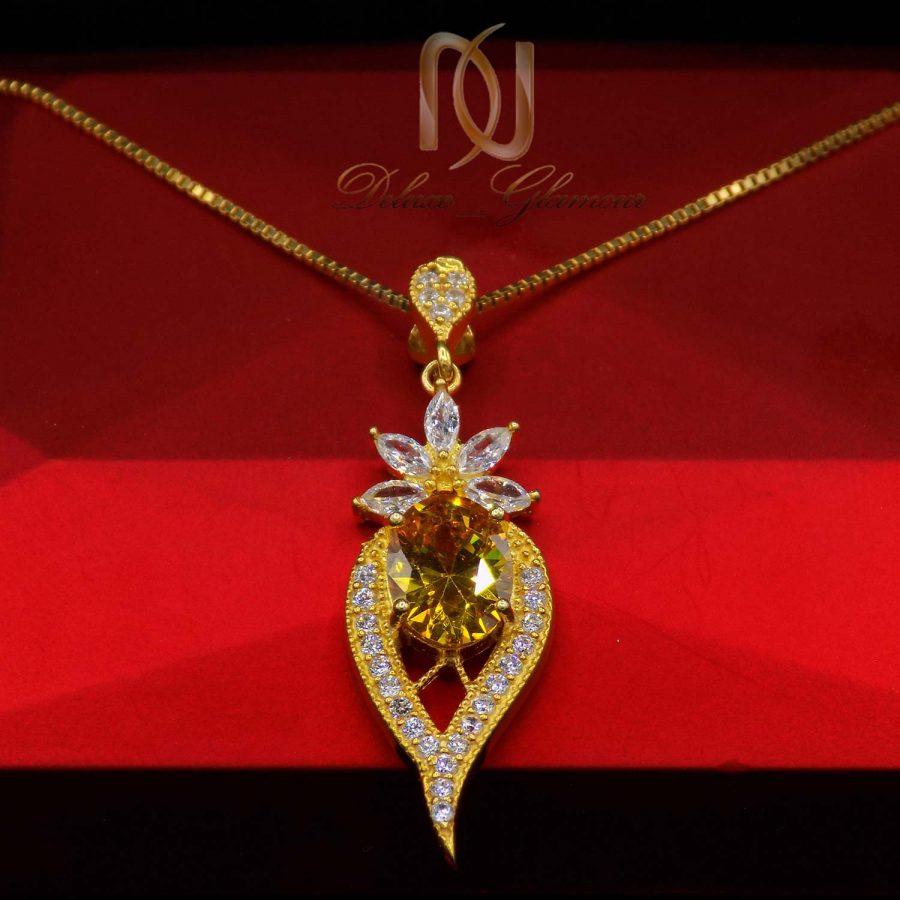 گردنبند نقره زنانه طرح طلای خاص ma n520 3 | گردنبند نقره زنانه طرح طلای خاص ma-n520