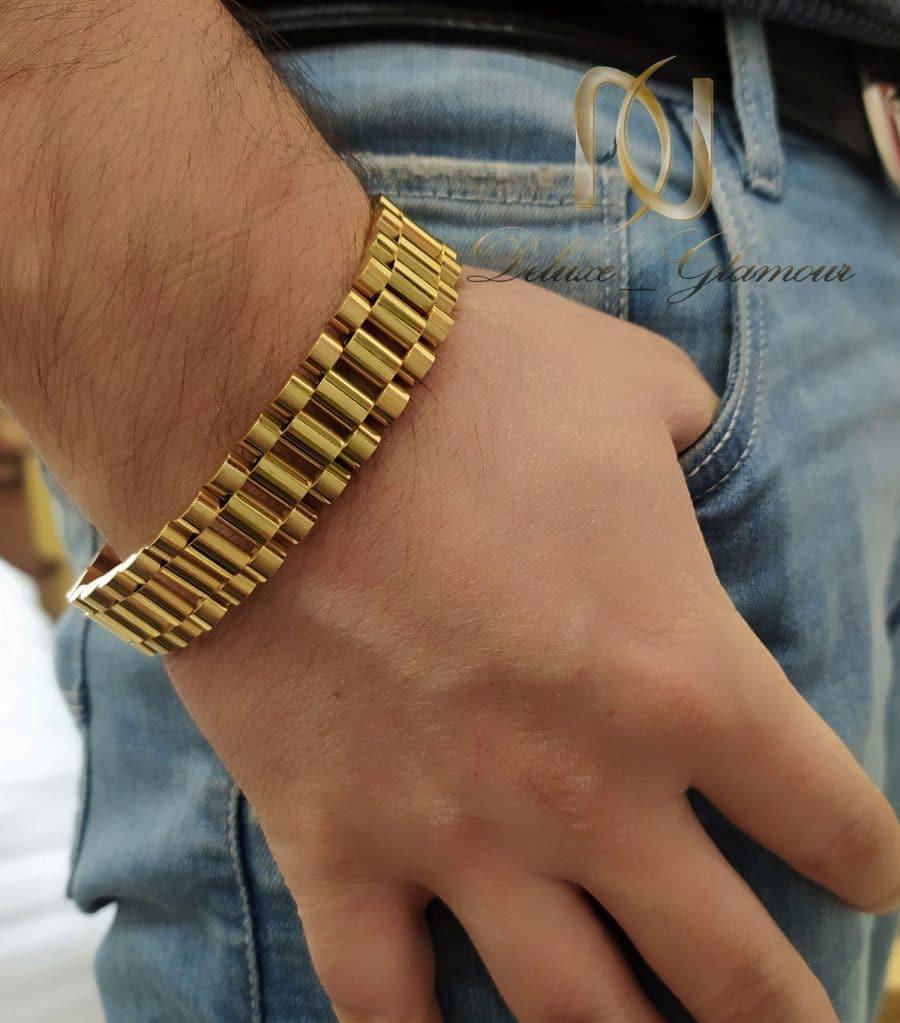 IMG 20201230 123440   دستبند مردانه ROLEX عریض استیل DS-N746