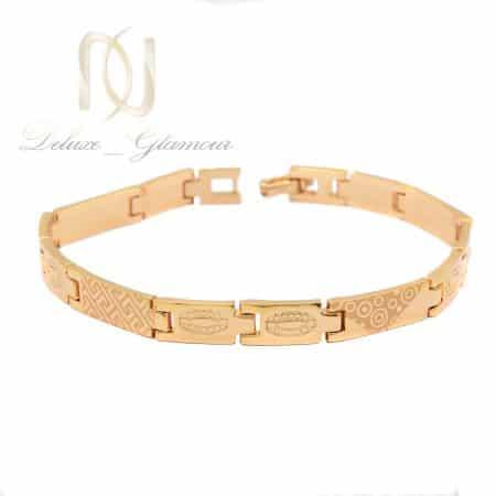 دستبند ژوپینگ زنانه طرح طلای تراش ds-n764