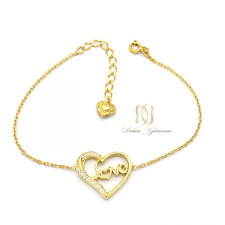دستبند ظریف دخترانه نقره 925 اصل ds-n772