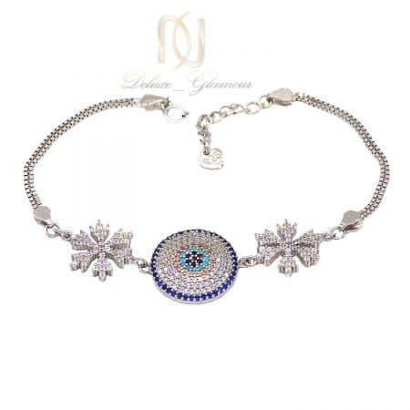 دستبند نقره دخترانه طرح دونه برف ma-n526