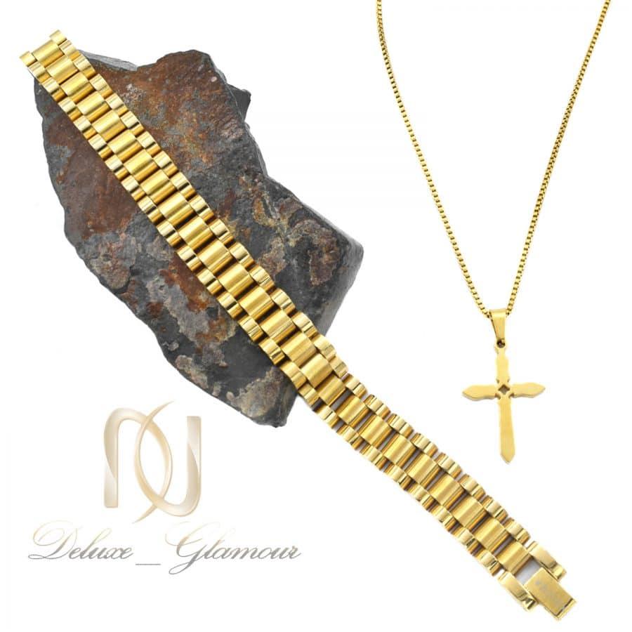ست دستبند و گردنبند مردانه خاص ns-n671