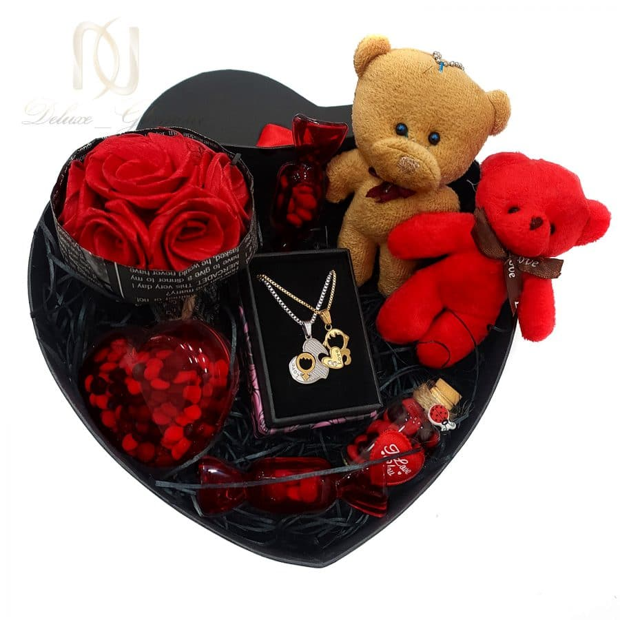 پک کادویی 5 | پک کادویی گردنبند ست عاشقانه pk-n102