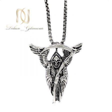 گردنبند اسپرت استیل طرح فرشته مرگ nw-n697