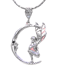 دستبند زنانه استیل 18 سانتی با نگین های درخشان  مارکازیت ds-n163
