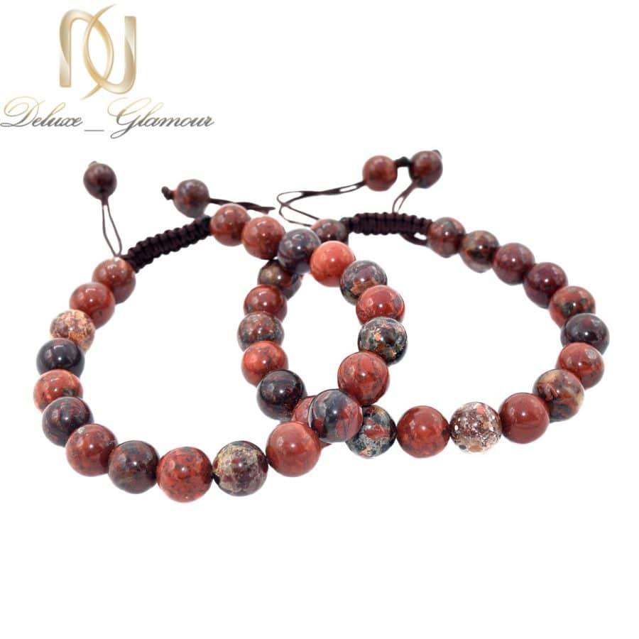 6 | دستبند ست سنگ جاسپر اسپرت za-n490