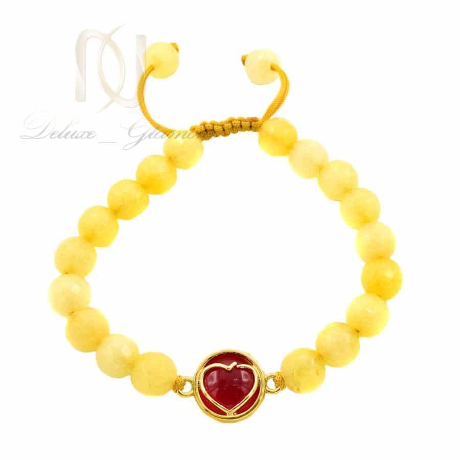 دستبند دخترانه سنگ جید اصل za-n491