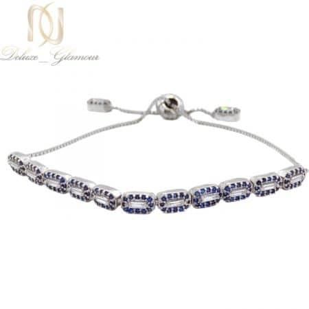 دستبند نقره فانتزی دخترانه نگین دار ma-n540