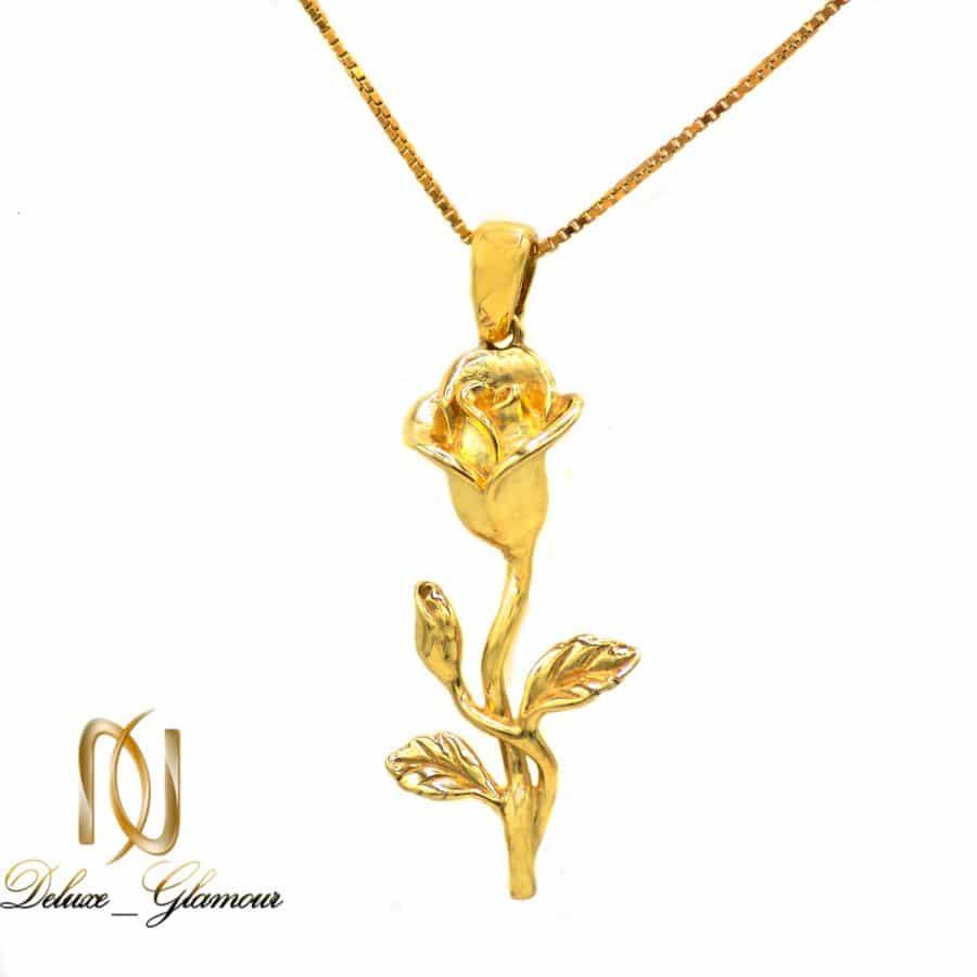 گردنبند زنانه طرح گل نقره 925 اصل ma n537 3 | گردنبند زنانه طرح گل نقره 925 اصل ma-n537