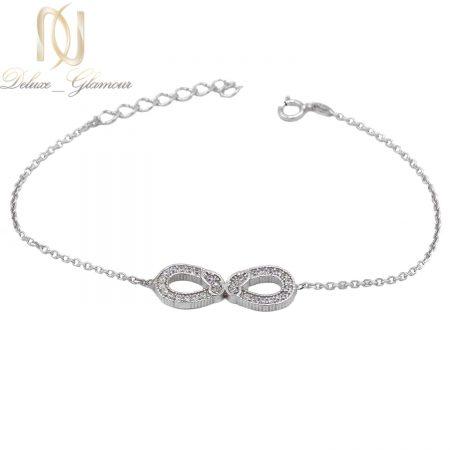 دستبند دخترانه نقره ظریف بی نهایت ma-n553