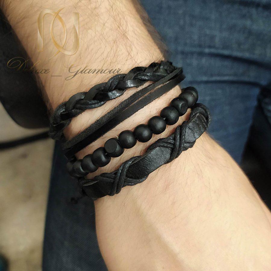پک دستبند 1 | پک دستبند فشن مردانه چهارتایی ds-n793