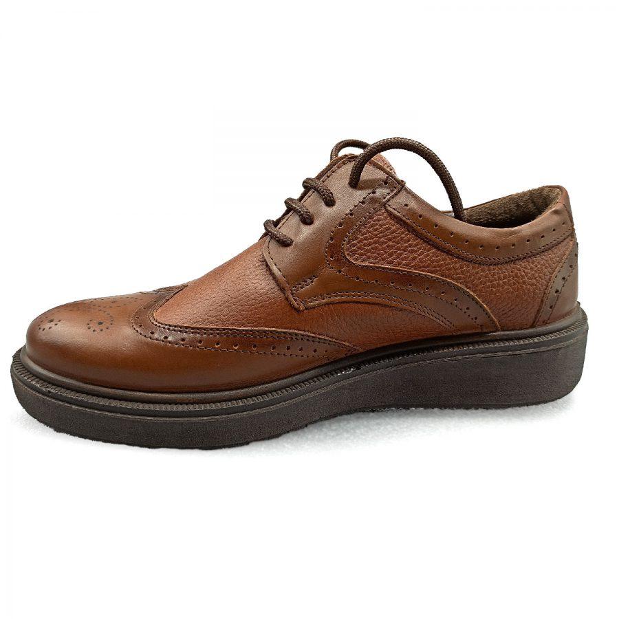کفش چرم مردانه اسپورت 2 | کفش مردانه چرم اصل تبریز کلاسیک sh-n215