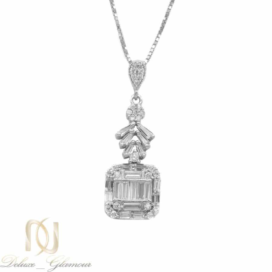 گردنبند نقره جواهری زنانه جدید ma n542 | گردنبند نقره جواهری زنانه جدید ma-n542