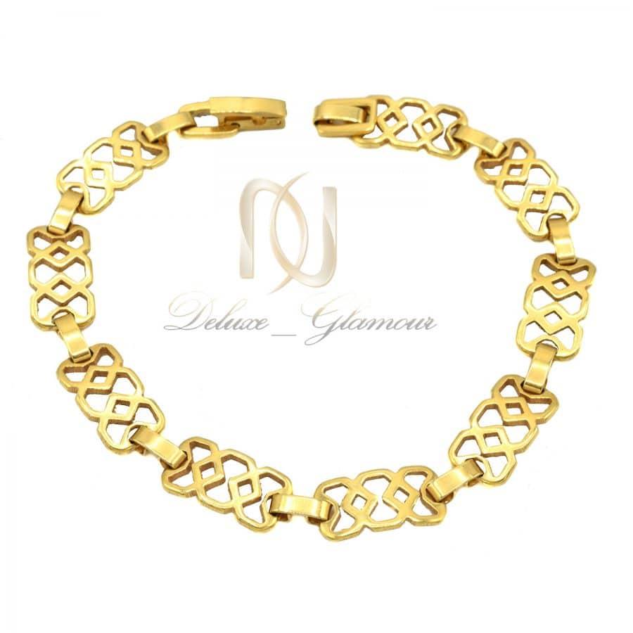 DSC 1525   دستبند استیل زنانه طرح طلا ds-n789